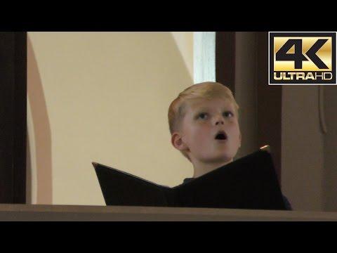 Come unto Him (Handel) | boy soprano Aksel Rykkvin (12y) & Vegar Sandholt (organ)