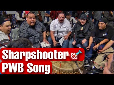 Sharpshooter @ Shelton Powwow 2017 (Peyton Whitebuffalo Song) Composed by Worm Dearly