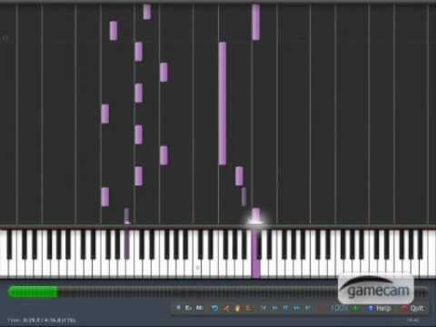 Nightwish - While Your Lips Are Still Red (synthesia)