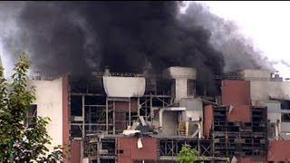 Eksplozja i pożar w elektrowni Turów,