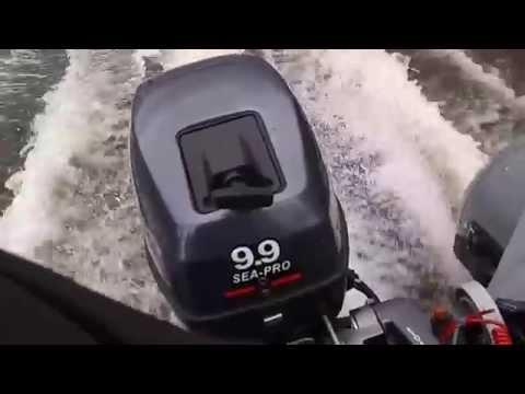обкатка лодочного мотора си про 9.9 отн