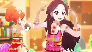 Aikatsu!- Amafuwa☆Nadeshiko- [Love Like Caramelize] - Kokone 💛 and ➰ Miyabi 💜