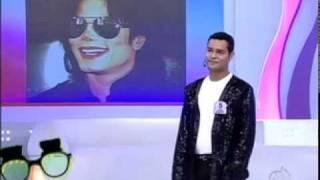 JEAN WALKER (canta igual Michael Jackson) - TUDO É POSSÍVEL Ana Hickmann 13/02/2011 ®