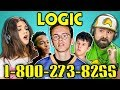 ADULTS REACT TO LOGIC 1 800 273 8255 mp3