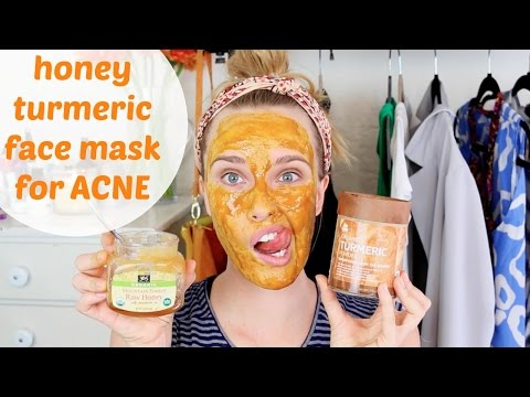DIY: Honey Turmeric Face Mask for Acne