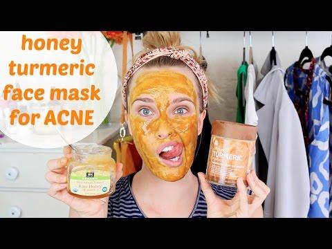 DIY: Honey Turmeric Face Mask for Acne