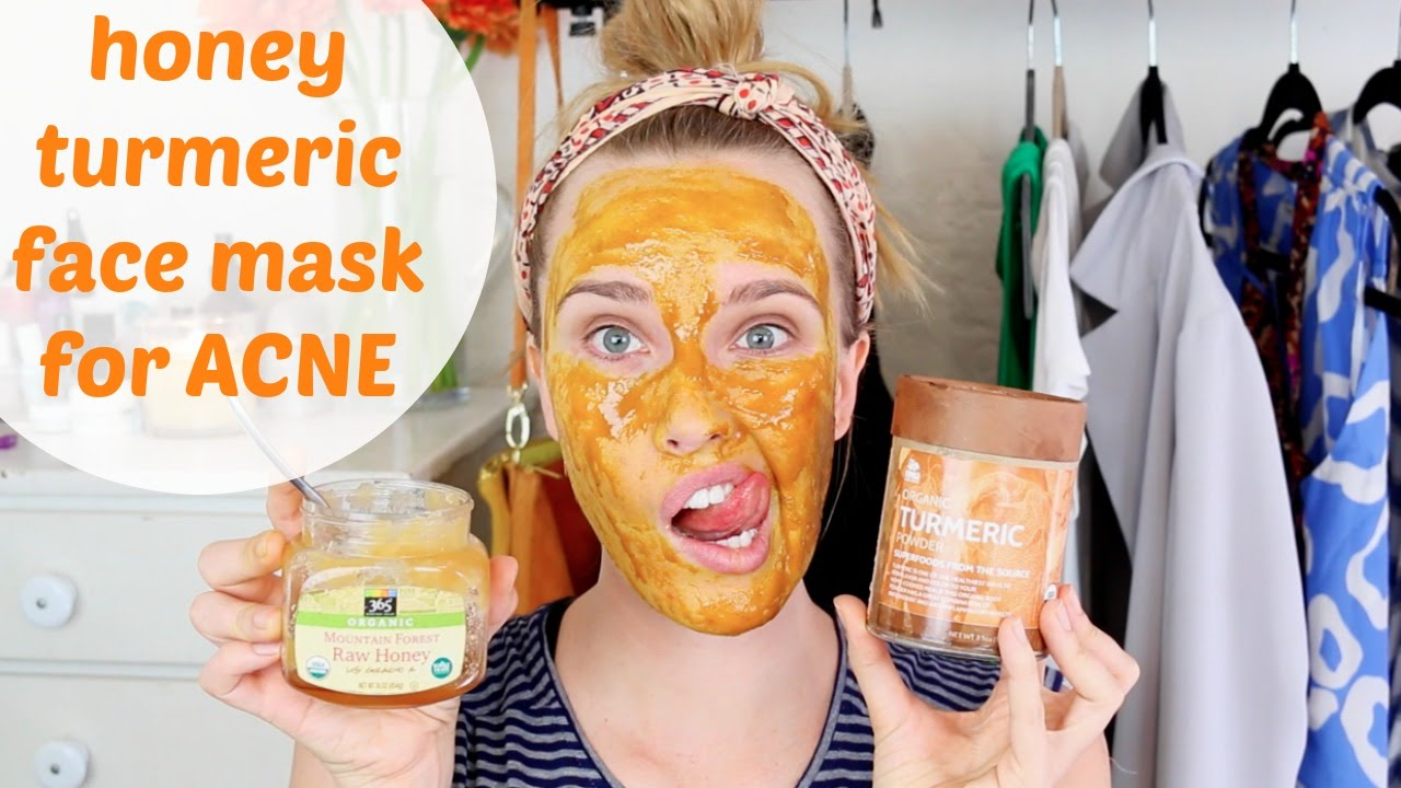 Honey Turmeric Face Mask
