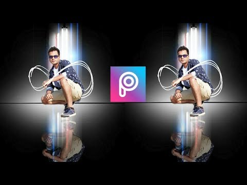 Picsart Dark background editing || picsart tutorial || PicsArt photo editing thumbnail