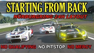 GT Sport - Thrilling Run Through The Field - Weekly Race Nürburgring 24h