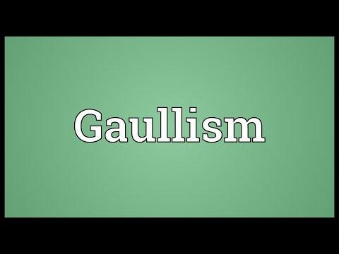 Header of Gaullism