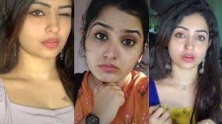 cute expression tamil girls - tamil tik tok troll