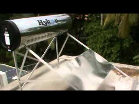 Hykon Solar Water Heater Installation Training Youtube