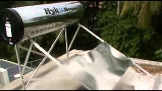 Hykon Solar Water Heater Installation training