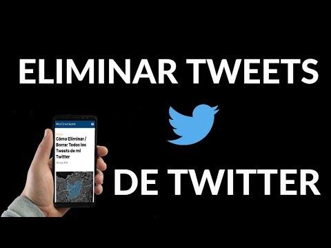 ¿Cómo Eliminar / Borrar Todos los Tweets de mi Twitter?