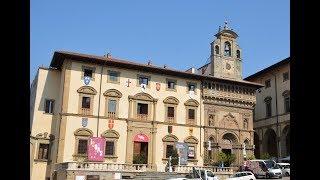 アレッツォ フラテルニタ・ディ・ライチ館からドォーモ・ヴァザーリの家