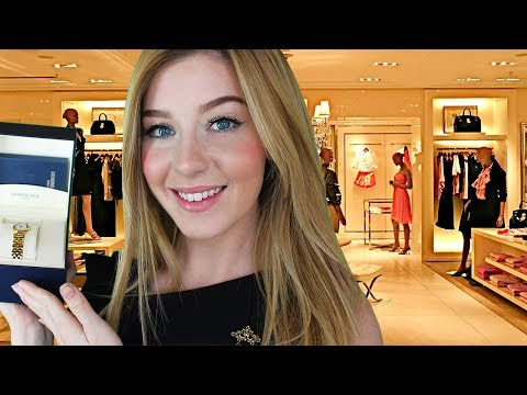 [ASMR] Personal Shopper Luxury Gift Buying Roleplay