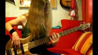 Cannibal Corpse - Evisceration Plague (Bass Cover)