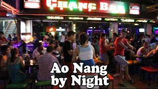 Ao Nang Nightlife: Ao Nang Krabi Thailand by Night. Restaurants, Bars, Shopping & Street Food