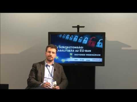 Hargitai László (KPMG): Az EU új GDPR szabályozása