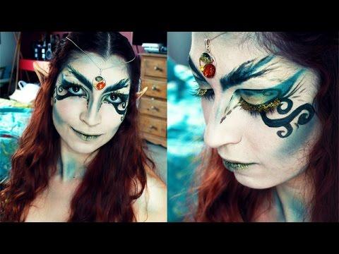 Tutoriel maquillage  Elfe de la forêt