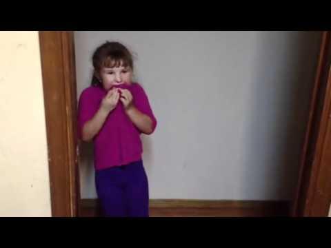 Karmas first balloon pop
