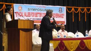 Evergreen Prof.Anil Kumar Sir.. singing Govindam Bhaja Mudhamate on 02.12.2013. (