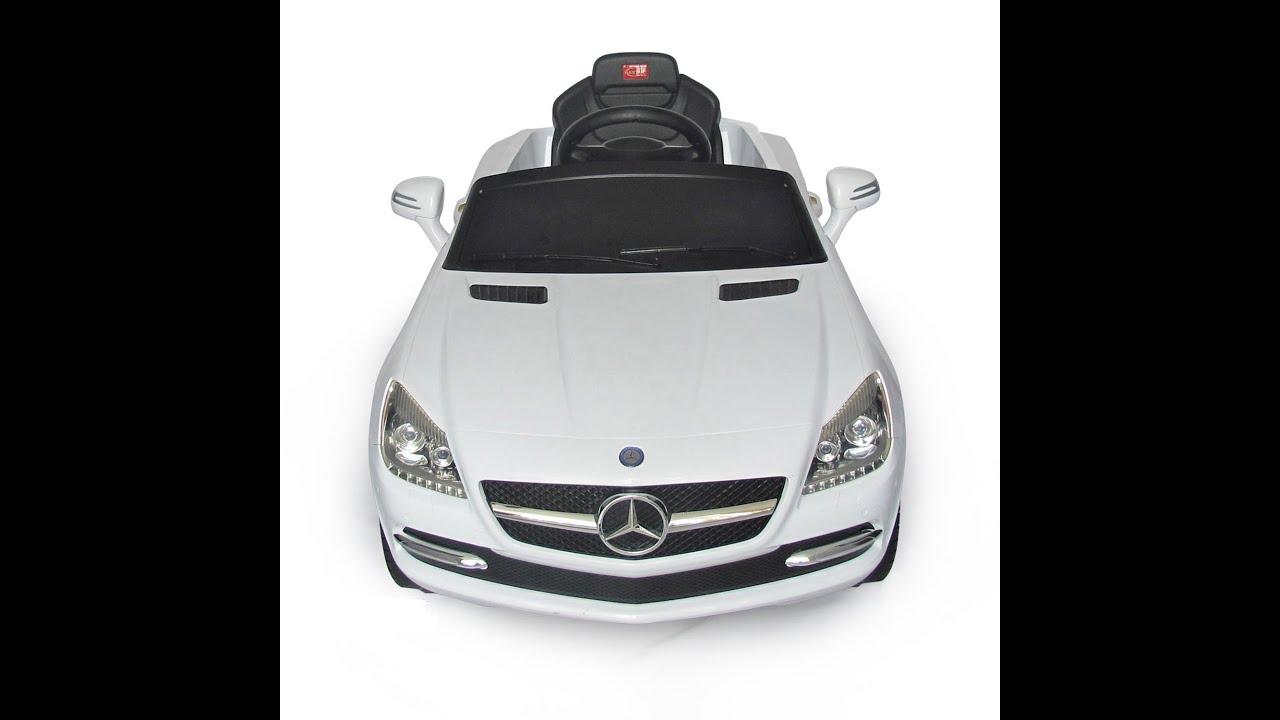 Mercedes benz slk kids 6v electric ride on toy car for for Mercedes benz electric car for kids