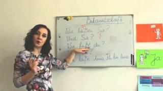 Німецька - суперуроки!!! Deutsch. Знайомство. Урок 3. Онлайн школа Mandarin.