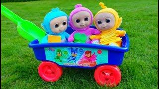 Teletubbies Wagon Ride - Pretend Food