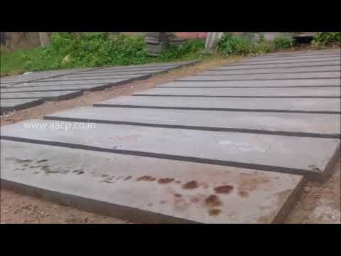 concrete fence panel making process diy