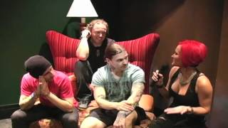 2012 Rat Rock Girl Apryl Interviews Brent, Barry, and Eric from Shinedown on April 21, 2012