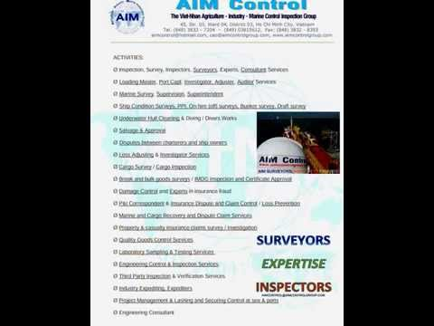 AIM SURVEYORS INSPECTORS EXPERT IN VIETNAM WORLDWIDE