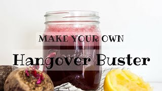 MAKE YOUR OWN: Hangover Buster Beetroot & Ginger Juice