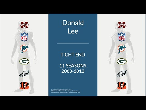 Donald Lee: Football Tight End