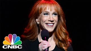 Kathy Griffin Loses CNN Deal After Photos With Fake Severed Trump Head: Bottom Line | CNBC
