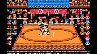 Tsuppari Oozumou - Nintendo/NES