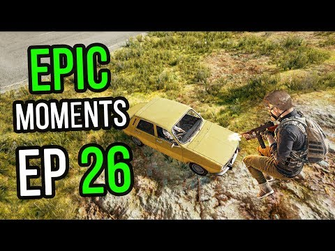 PUBG: Epic & Lucky Moments Ep 26