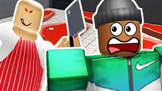 ESCAPE THE BUTCHER SHOP! | Roblox