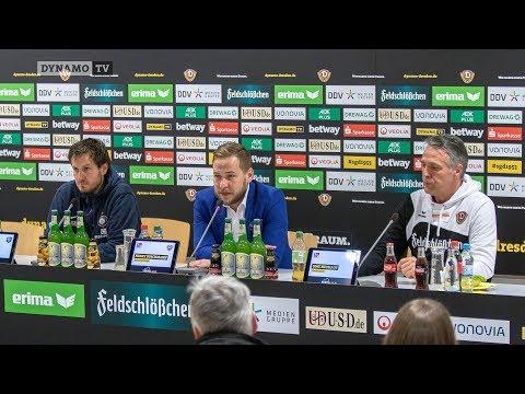 16. Spieltag | SGD - AUE | Pressekonferenz nach dem Spiel