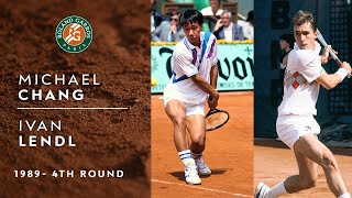 Michael Chang vs Ivan Lendl - 4th round | Roland-Garros 1989