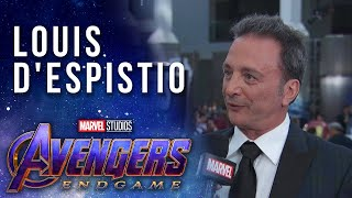 Avengers: Endgame Executive Producer Louis D'Esposito LIVE at the Red Carpet Premiere