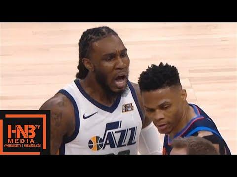 Oklahoma City Thunder vs Utah Jazz 1st Qtr Highlights / Game 4 / 2018 NBA Season