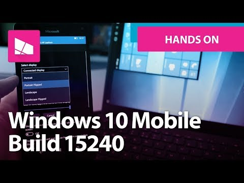 Windows 10 Mobile Build 15240 - New Emoji, Continuum, Changes