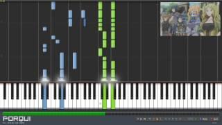 Repeat youtube video Log Horizon Opening - database feat. TAKUMA(10-FEET) (Synthesia)