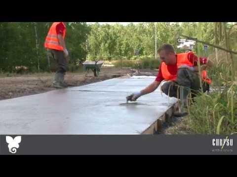 Comment pr parer du b ton funnycat tv - Comment couler un poteau en beton ...