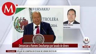 Denuncian ante la SEIDO a Romero Deschamps por lavado de dinero