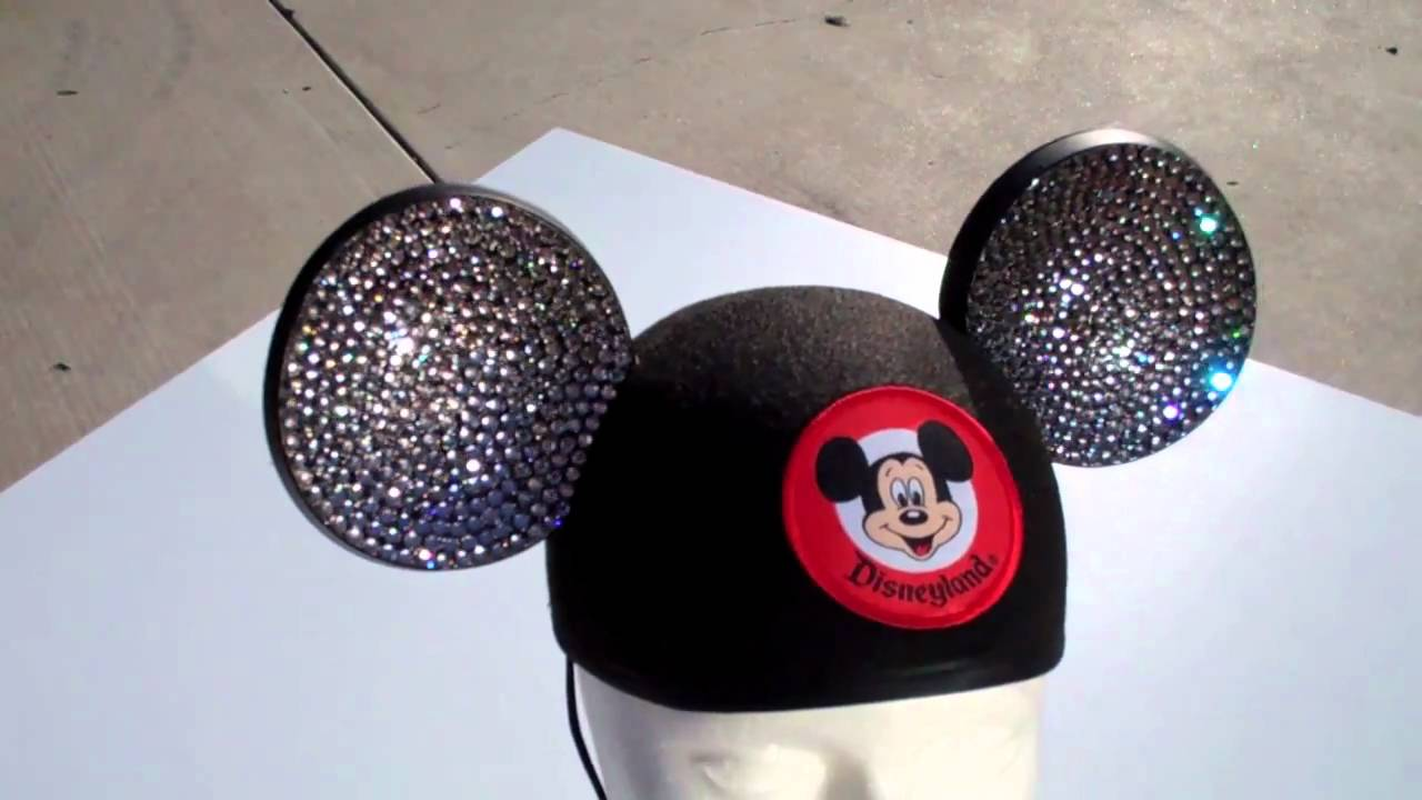 c9760d3a3 Swarovski Mickey Ears - YouTube
