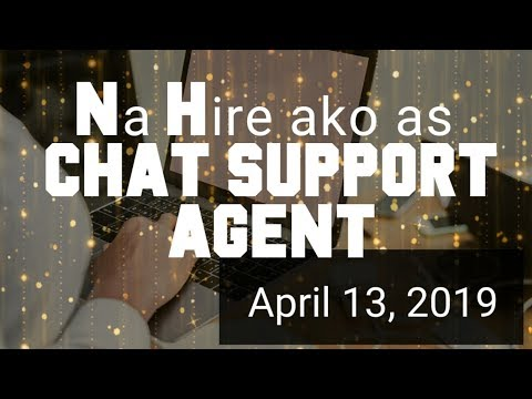 Paano Ma HIRE As CHAT SUPPORT AGENT, At Magkano SWELDO?