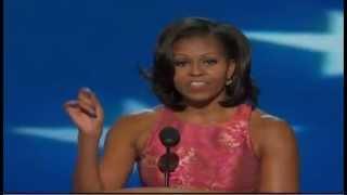 Michelle Obama's full DNC speech