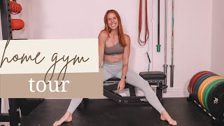 MY NEW HOME GYM, GARDEN TOUR AND CHANGING OUR DIET! | CARLYROWENA